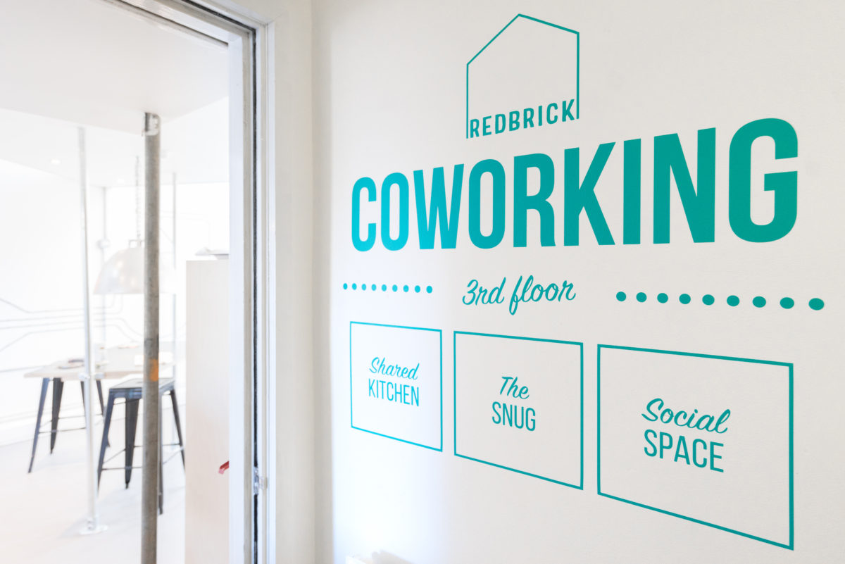 Coworking space and office space bristol Redbrick house