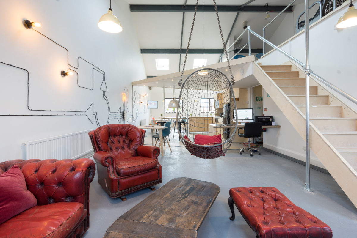 Office Space Bristol, Coworking floor at Redbrick House